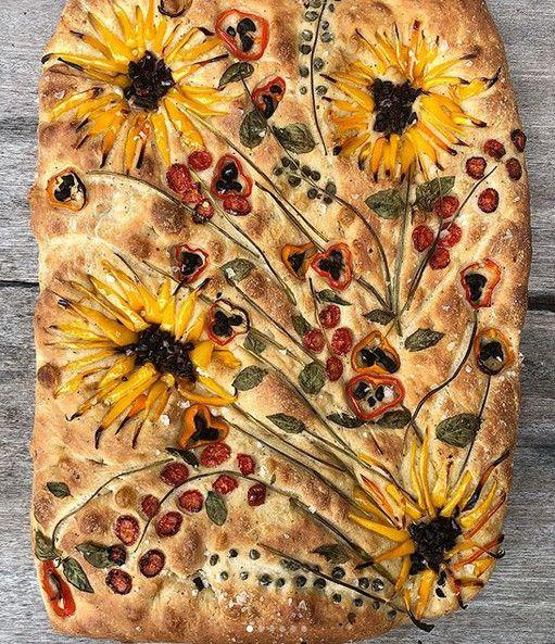 Van Dough Foccacia Bread Art: Recipe & Tutorial