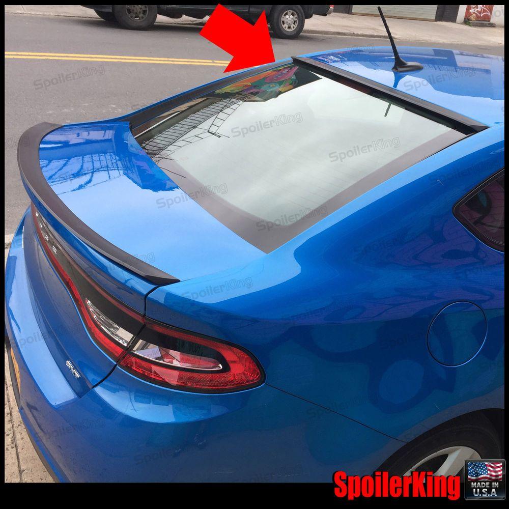 818r Stancenride Rear Roof Spoiler Window Wing Fits Dodge Dart 2013 2016 Ebay Dodge Dart Dodge Dart