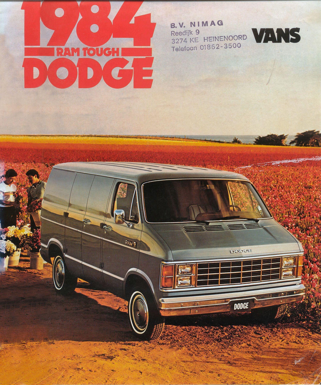 Dodge Ram 1984 Dodge Van Mopar Muscle Cars Panel Truck