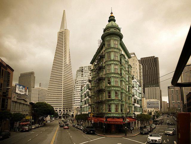 American Architecture San francisco Transamerica pyramid and Tower