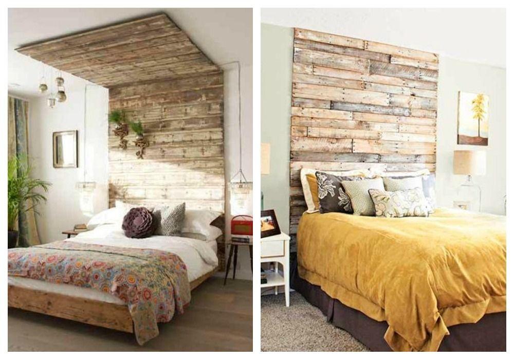 04 cabeceros de palets forrar pared ideas palets - Forrar cabeceros de cama ...