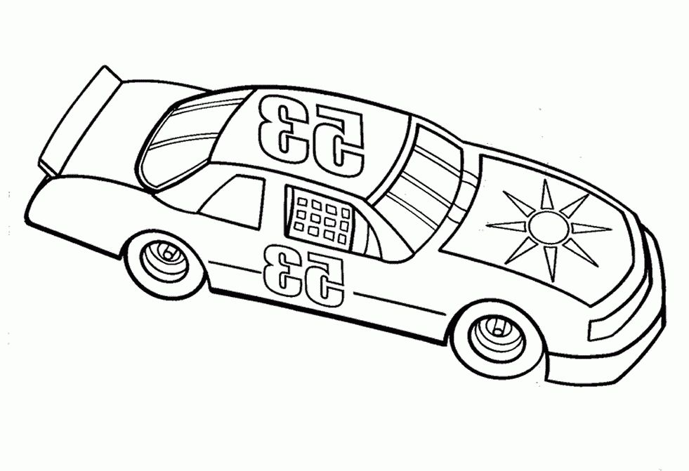 The Most Stylish Beautiful nascar coloring pages - http://coloring ...