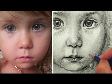 Tutorial how to draw realistic hair with colored pencils youtube