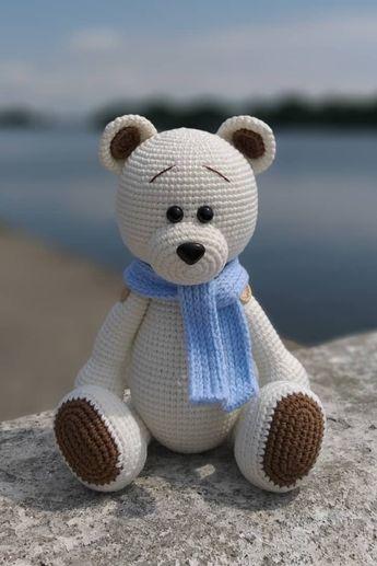 Crochet bear amigurumi pattern #uncinettoperbambina