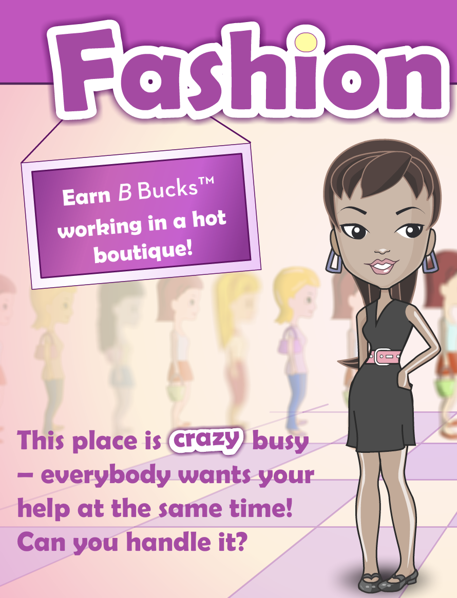 Play Free Online Management Fashion Frenzy Game in 2020