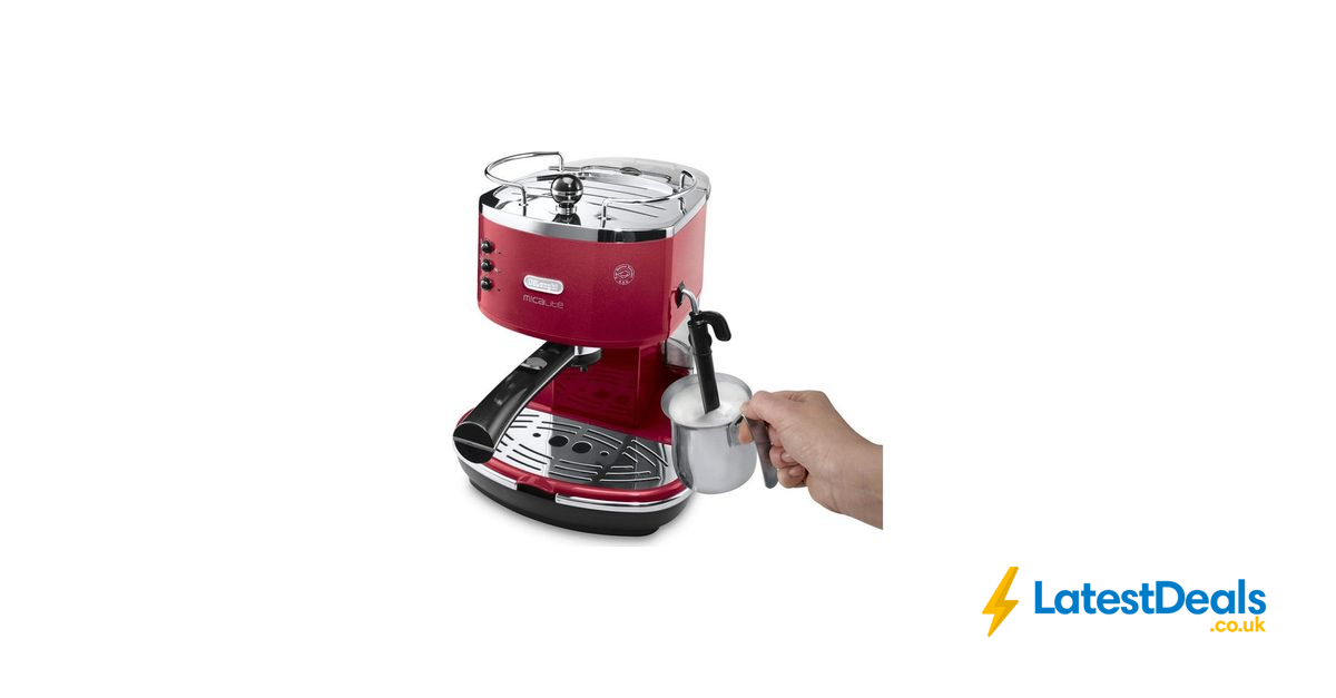 *HALF PRICE* DELONGHI Icona Micalite Coffee Machine Red