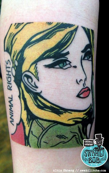 Pop Art Tattoos Inspirational Tattoos