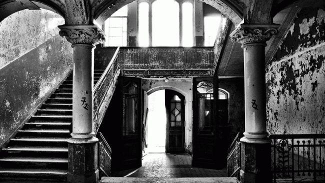 Beelitz-Heilstatten Sanatorium in Beelitz, Germany