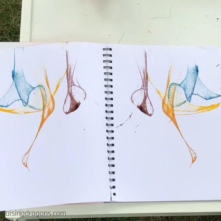 Como pintar con un hilo
