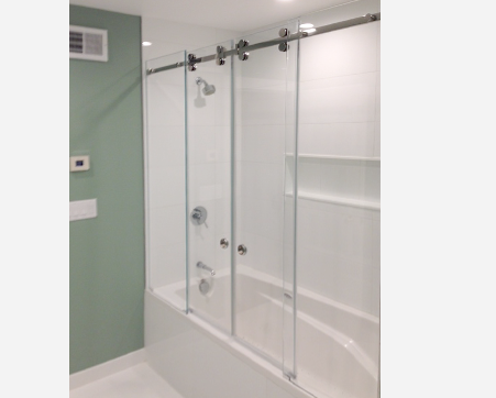 we specialize in manufacturing and installingframe and frameless shower doors tub enclosures using