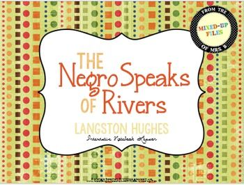 langston hughes the negro speaks of rivers