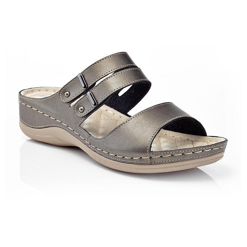 Henry Ferrera Womens Comfort Aaa Flat Sandals Womens Sandals