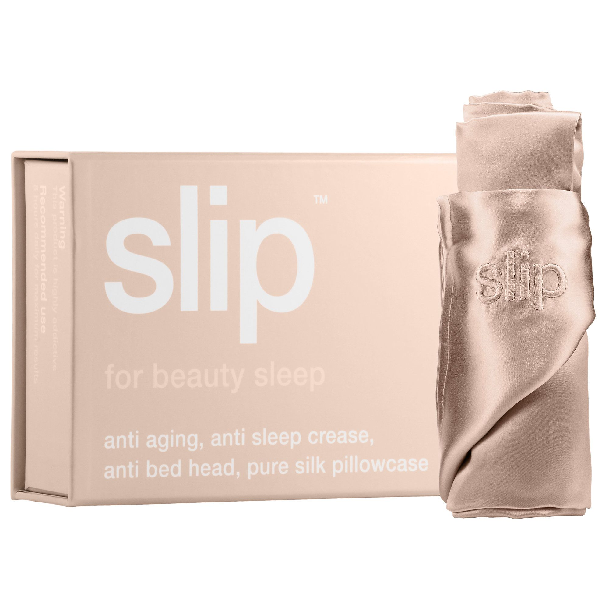 Slip Silk Pillowcase Review Alluring Shop Slip Beauty's Queen Silk Pillowcase At Sephorathe Antiaging Design Inspiration