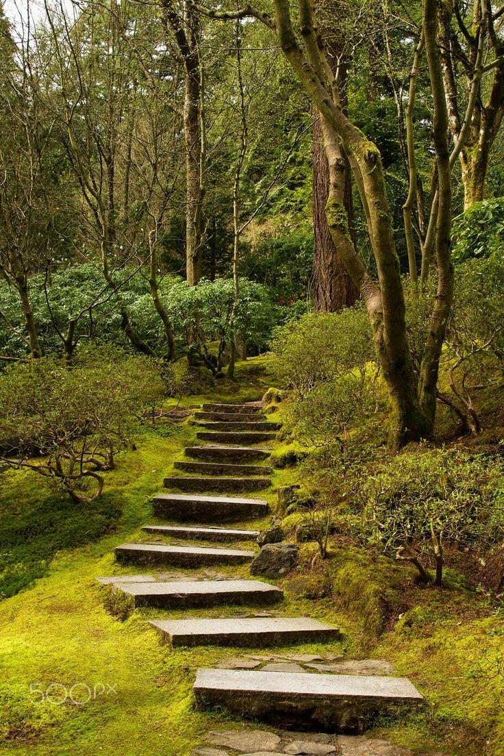 Portland Japanese Gardens, Oregon by Anna Calvert - Photo 70519333 ...