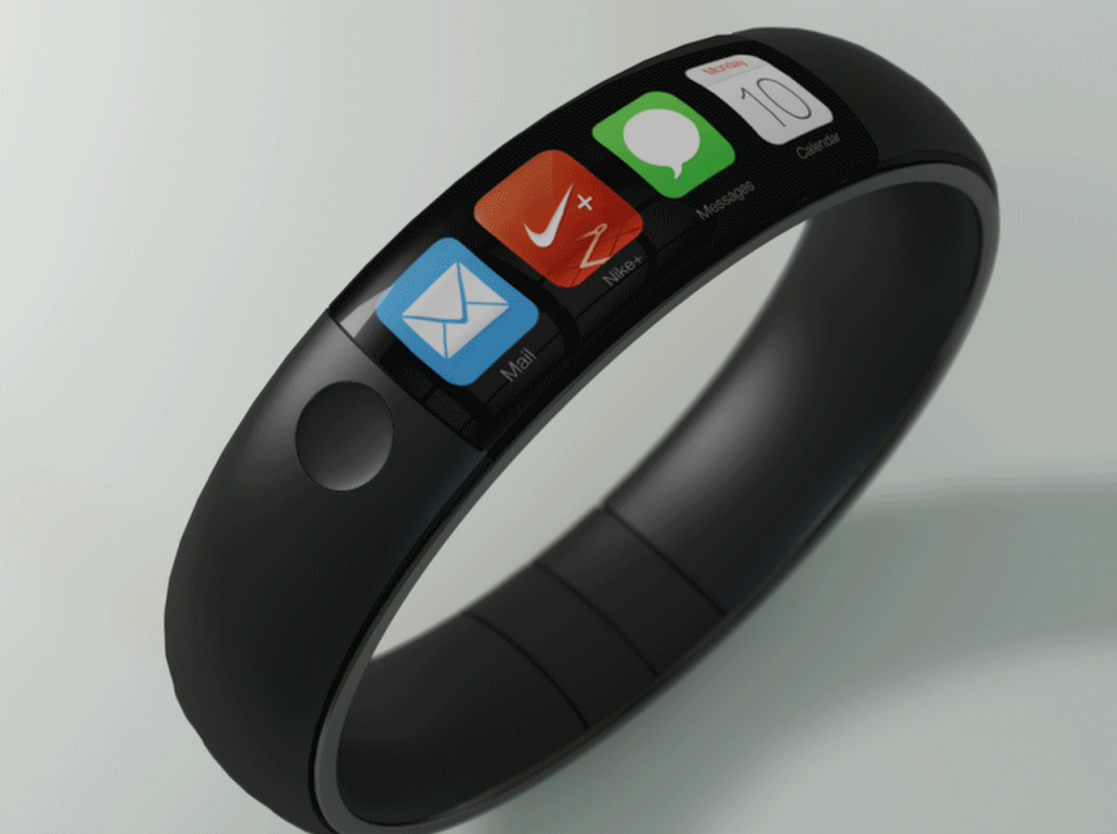 New iWatch concept looks like Nike's FuelBand, runs iOS 7