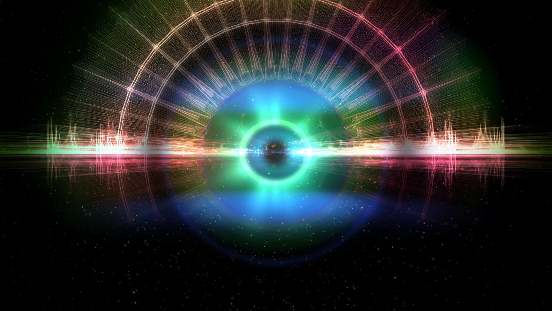 4K Deep Eye of Space Moving Background Wallpaper Loop