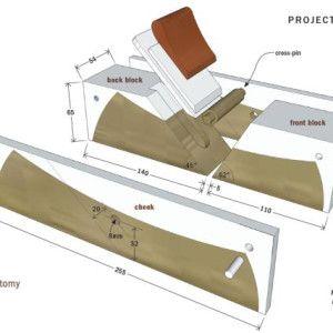 In Homage To The Late James Krenov Iain Green Makes A Handplane In The Style Krenov Populari Woodworking Hand Planes Woodworking Hand Tools Woodworking Planes