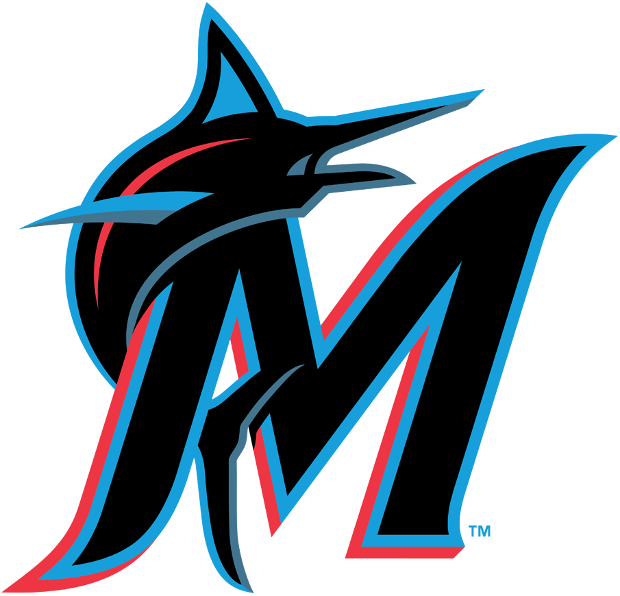 6317d42de Miami Marlins Alternate Logo (2019-Pres) - Marlin in blue