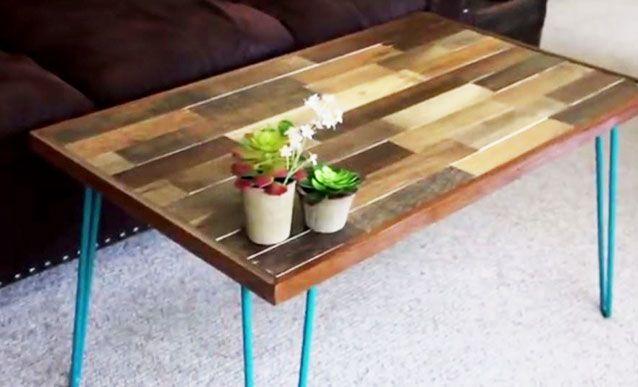 Tutoriel pour fabriquer une table basse en bois de palette - Fabriquer une table basse en bois ...