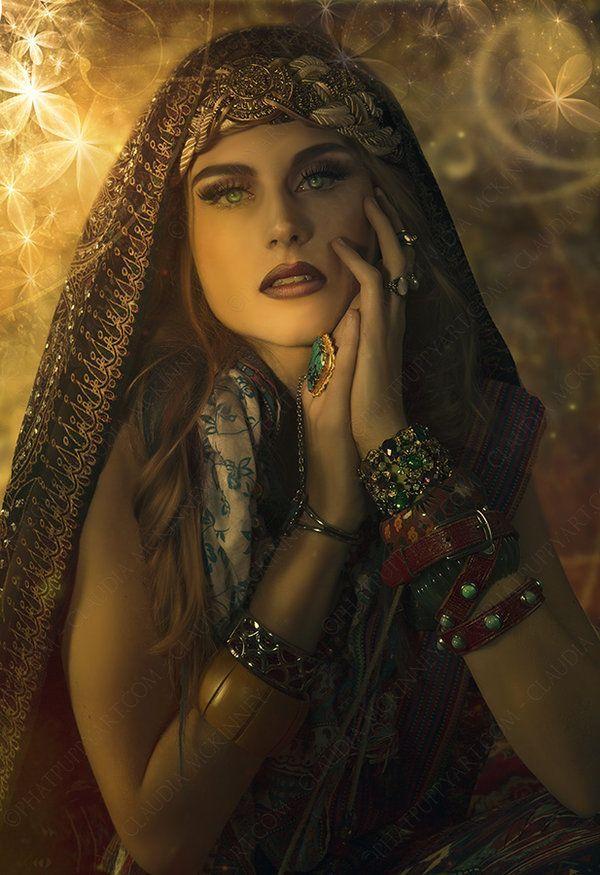 Картинки женщины фэнтези цыганка