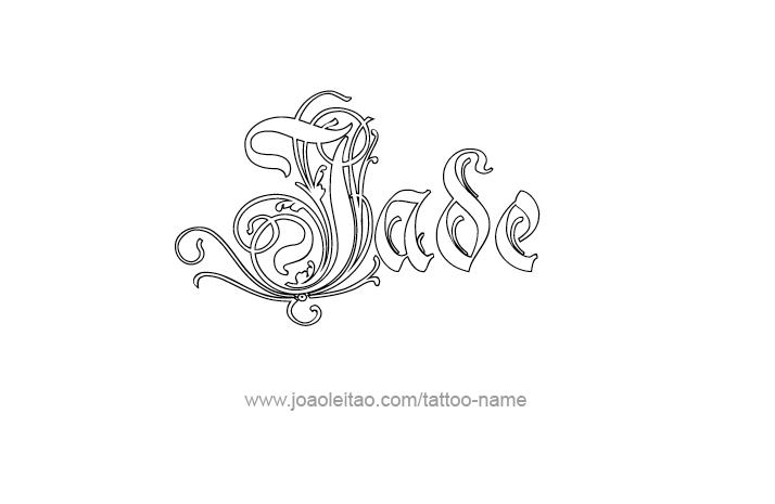 Jade Name Tattoo Designs Name Tattoo Designs Name Tattoo Tattoo Designs