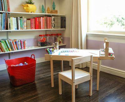 Diy Kids Art Table Ikea Hack Design