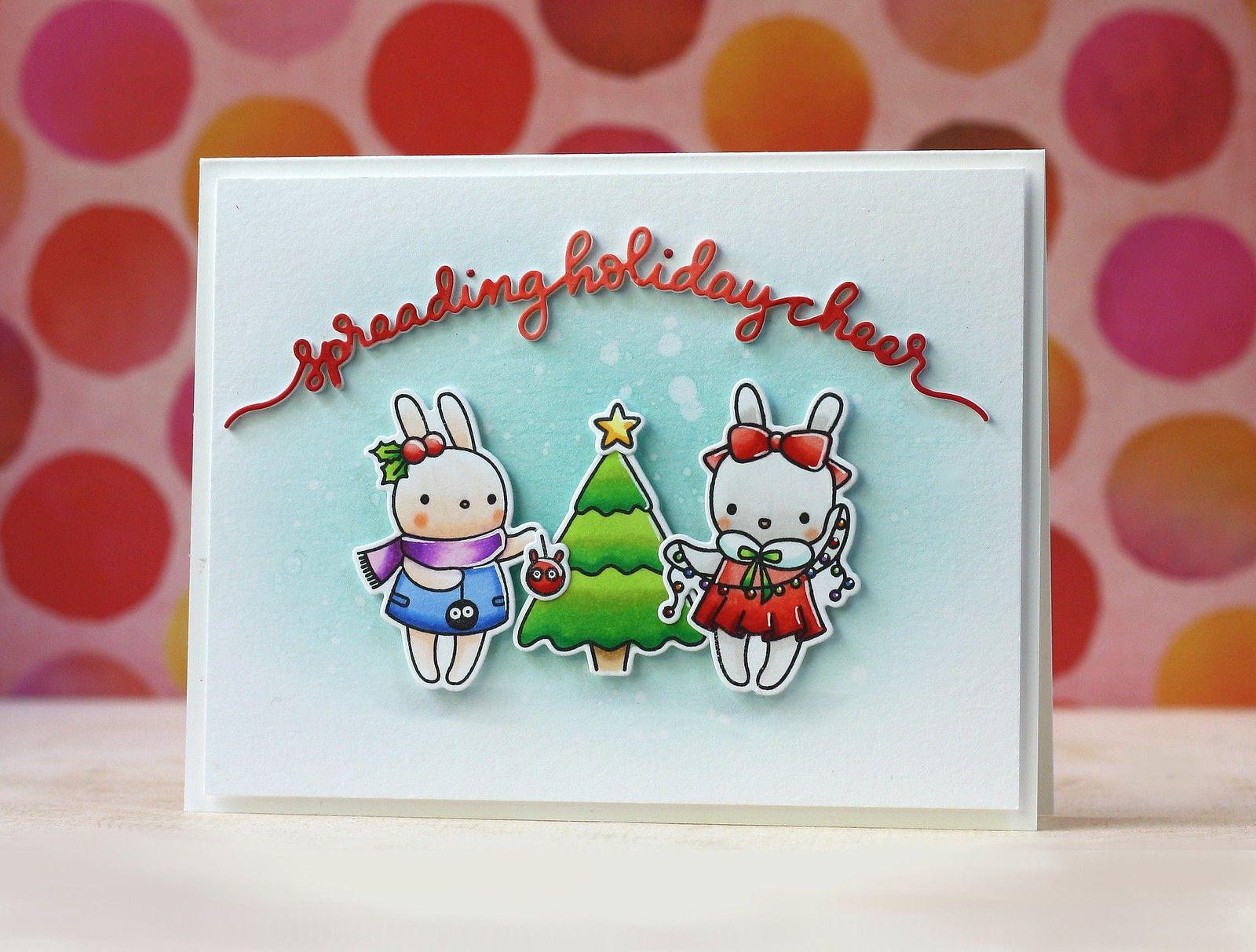 mama elephantpix's happy holiday  christmas card design