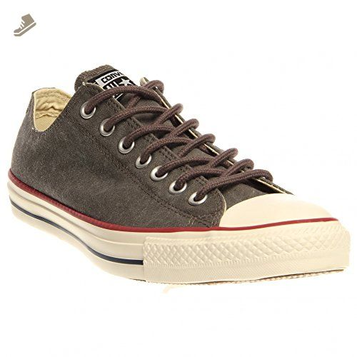 Converse Unisex Chuck Taylor All Star Ox Basketball Shoe Charcoal Size 10.5  Women / 8.5 Men