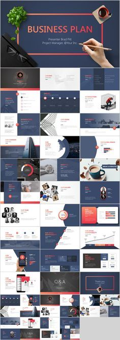 30 Best Tech Business Plan Powerpoint Template Downloa On Behance In 2020 Powerpoint Design Templates Business Powerpoint Templates Business Presentation Templates
