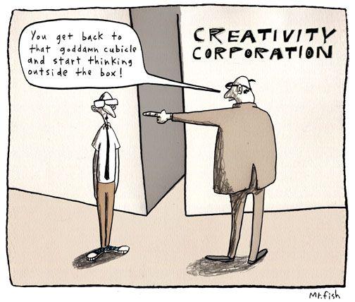 COMMuuni blogissa pohdiskelun aiheena on tällä kertaa luovuus. Tappaako itsesensuuri parhaat ideat? Näin ainakin me uskomme. :)
