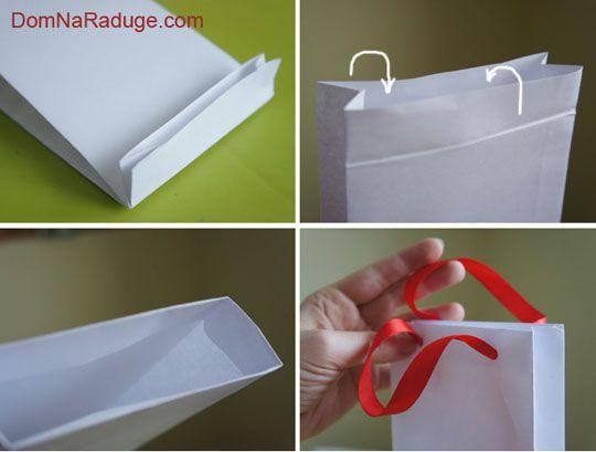 Бумажные пакеты своими руками (простой способ) 21