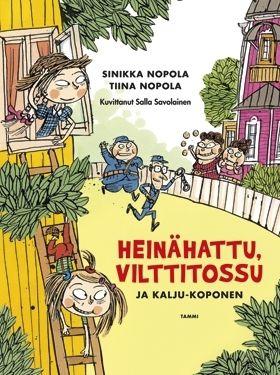 Rakastetut Kattilakosken siskokset tekevät uuden tulemisen kuvakirjana, jonka humoristisista kuvista vastaa Salla Savolainen.