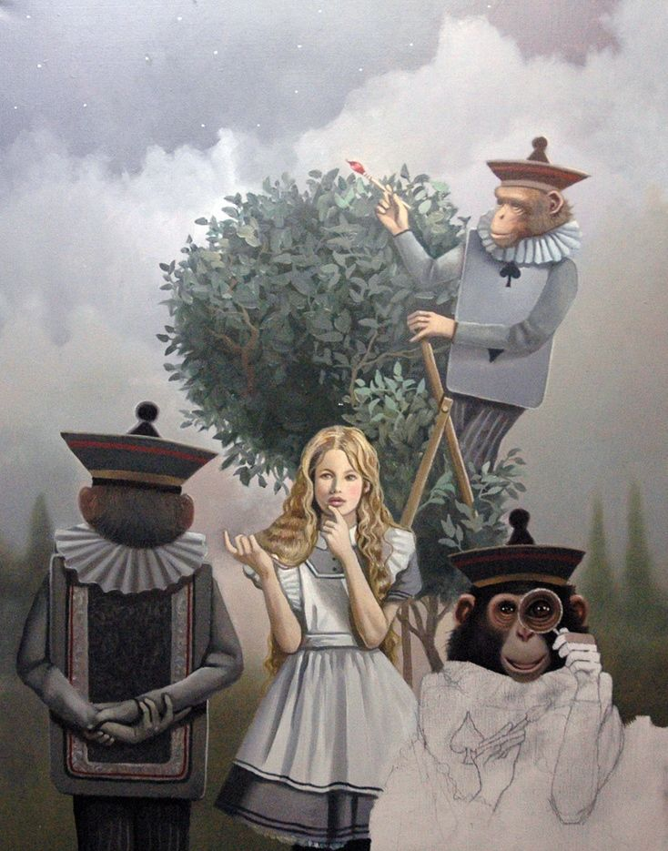 ALICE IN WONDERLAND BY DAVID DELAMARE