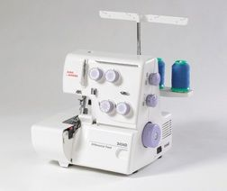 juno serger machine by janome model 3434d