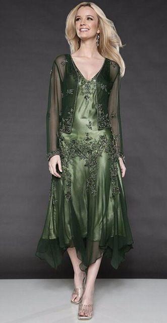 Online Shop Satsweety Dark Navy Blue Evening Gowns Scoop ...