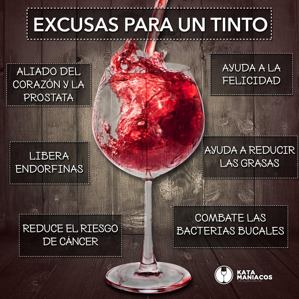 es bueno el vino para la prostata