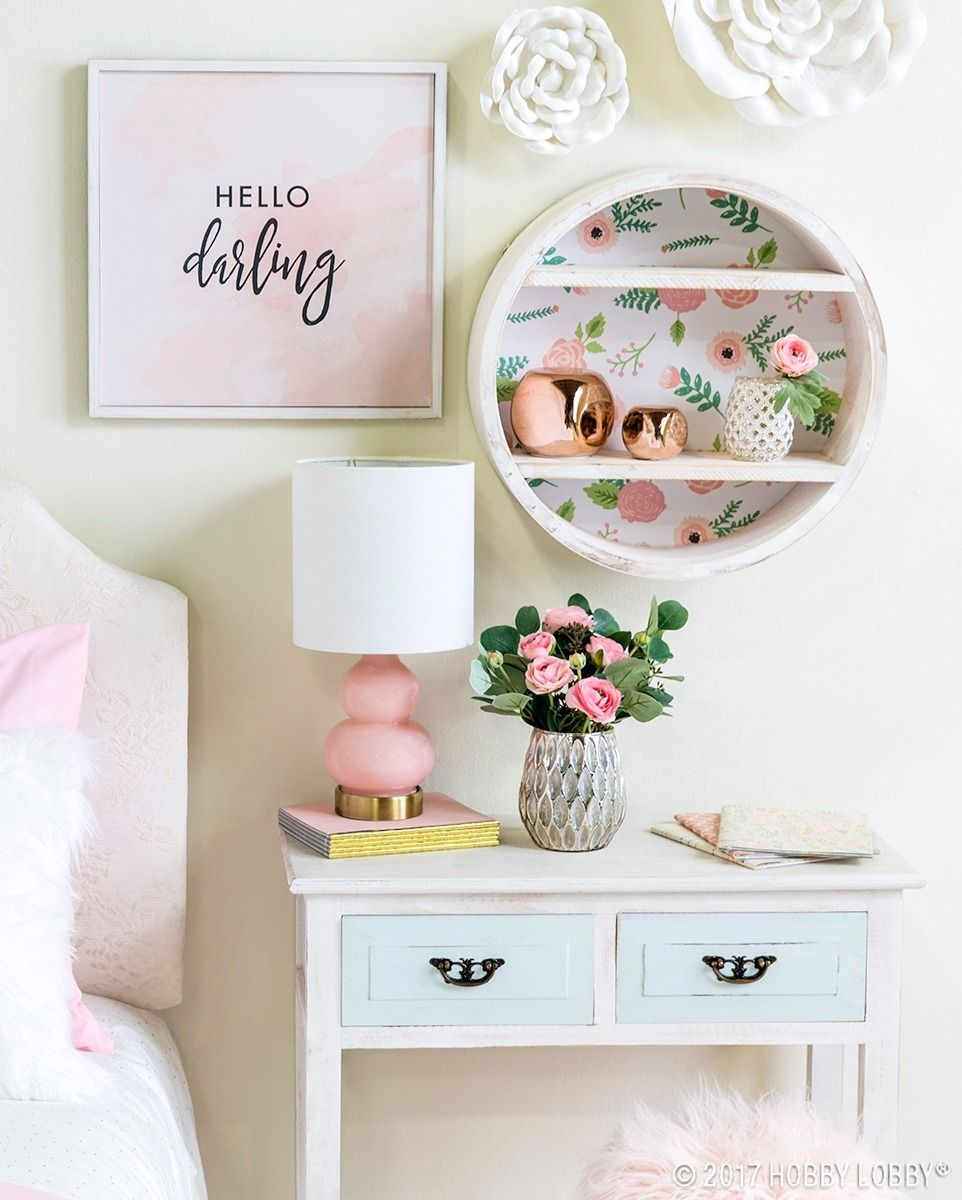 Is Your Little Darling S Room Ready For An Update Spruce Up Her Space With Dreamy Decor Girls Room Decor Wall Decor Bedroom Girls Girl Bedroom Decor