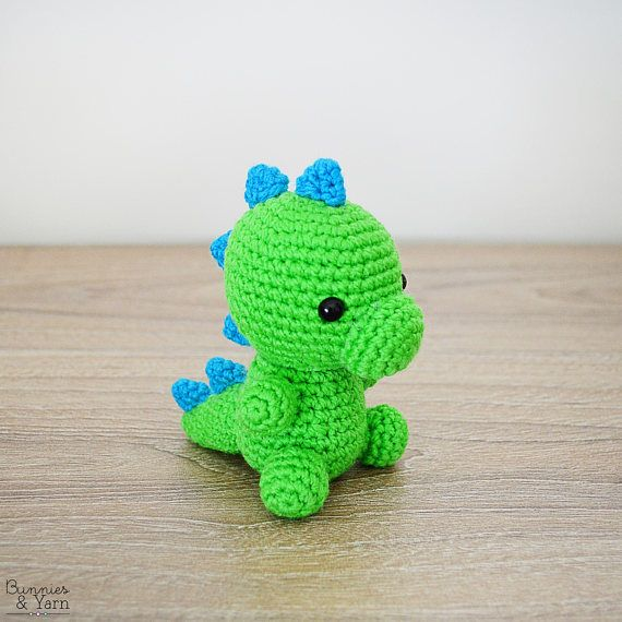 CROCHET PATTERN in English - Dinosaur - Baby #5 - Babies Collection ...