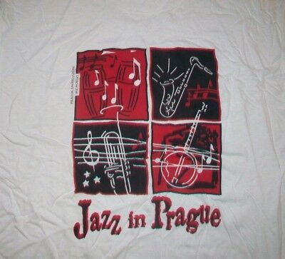 Jazz In Prague Music Festival Concert t shirt L europe new orleans 08172019 #fashion #clothing #shoes #accessories #specialty #vintage (ebay link)