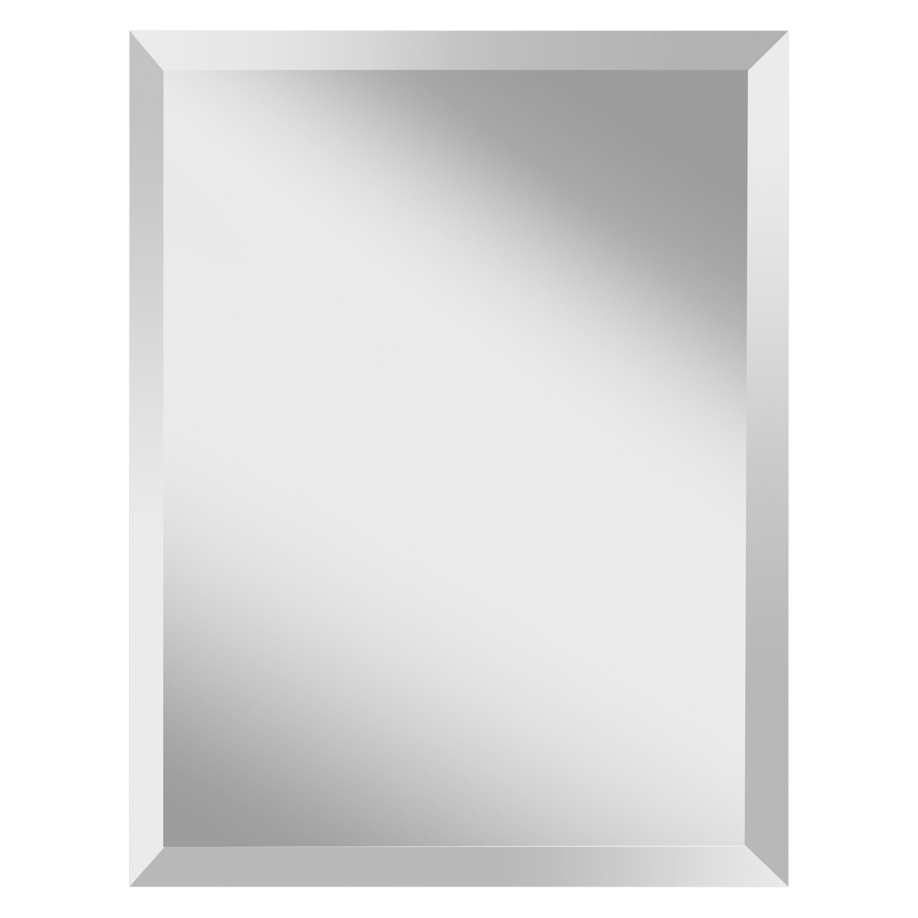 Have to have it. Infinity Frameless Rectangle Mirror - 22W x 28H in ...