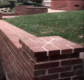 Brick Column Cap Detail Brick Column Designs Pinterest