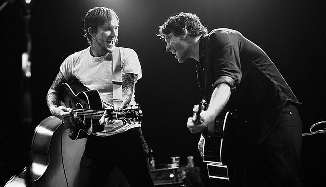 Brian Fallon And Chuck Ragan Two Amazing Musicians The Revival Tour Bristol By Adam Gasson Via Flickr