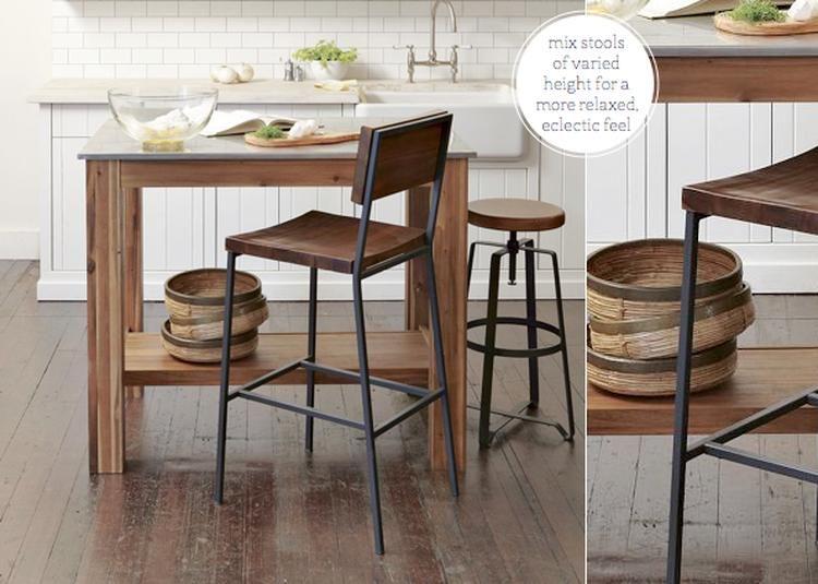 Industrieel Keuken Bar : Mooie barkruk voor rustieke en industriele keuken kitchen