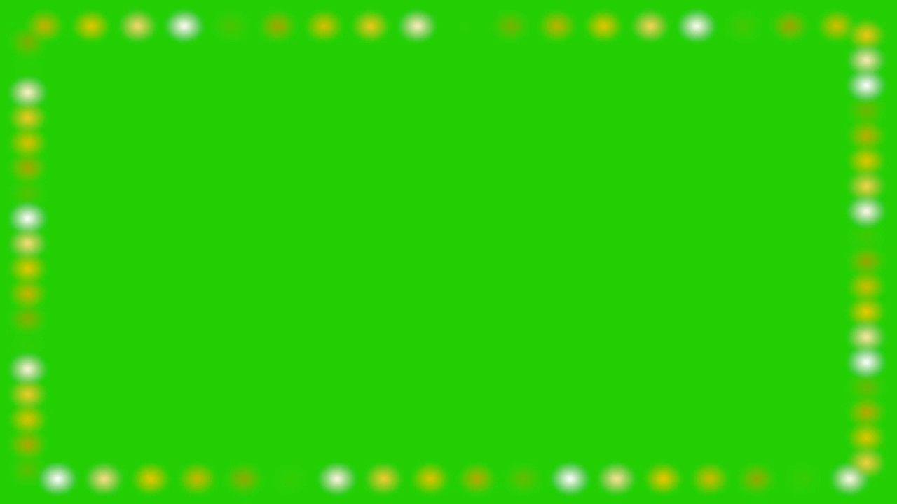 Holidays Lights Green Screen Lights Around Frame Green Screen Disco Greenscreen Free Green Screen Disco Lights