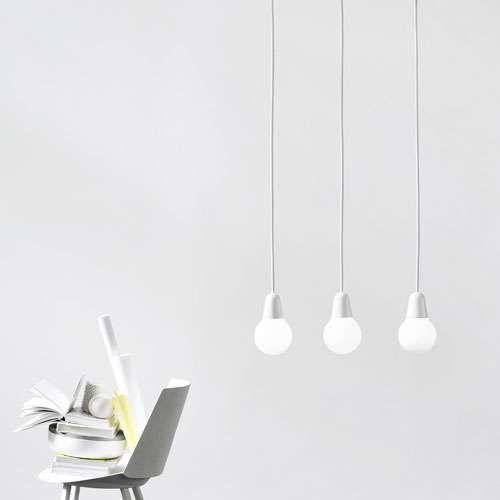 Plain Bulb Cool Lamps Scandinavian Lighting Interior Lighting