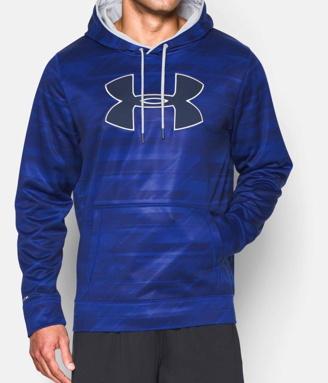 Mens ua storm armour fleece big logo printed hoodie mens ua storm armour fleece big logo printed hoodie under armour us gumiabroncs Images