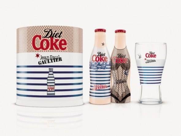"""Night & Day"", kit inspirado por Madonna e desenhado por Jean Paul Gaultier para a Diet Coke"