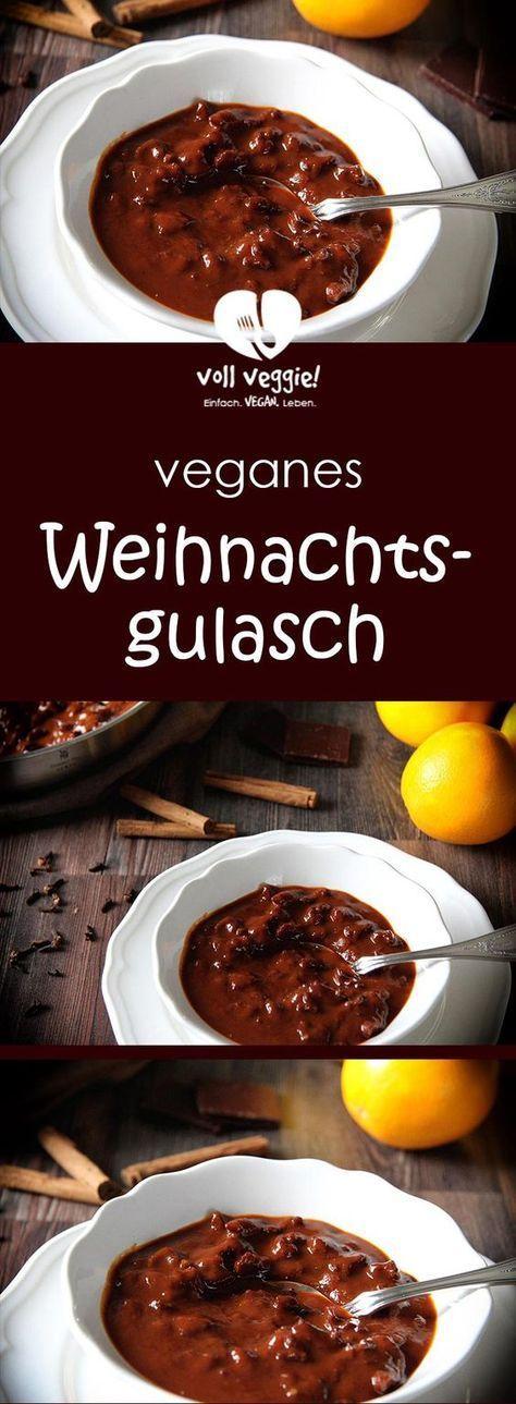 Veganes Weihnachtsgulasch #vejetaryentarifleri