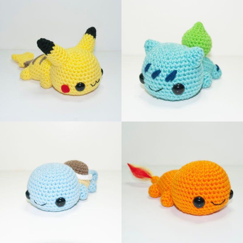 Even Crocheted Pokémon Need Rest After Battle | crochet | Pinterest ...