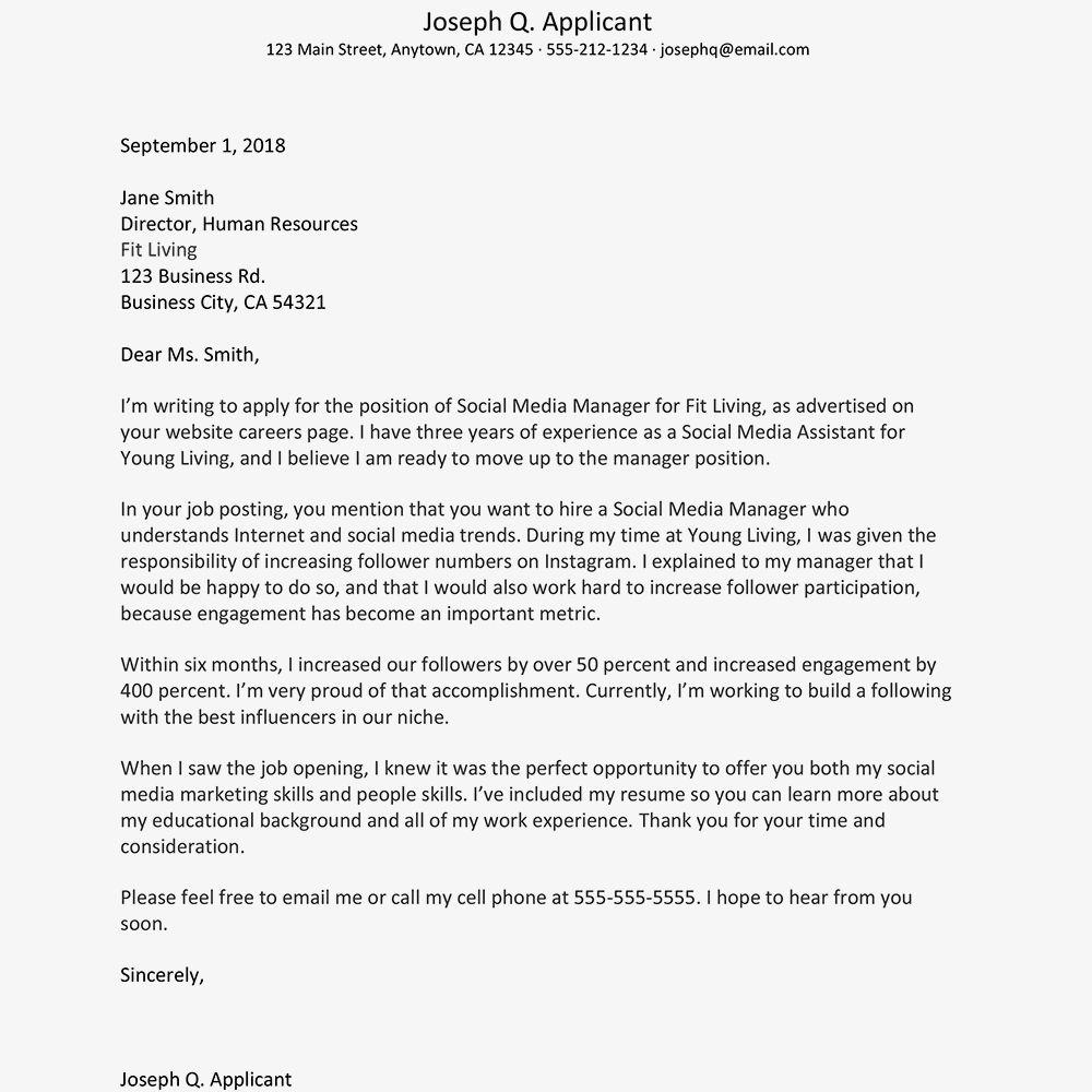 20+ Cover Letter On Resume   Job cover letter, Cover letter for ...